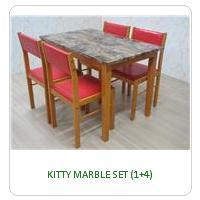 KITTY MARBLE SET (1+4)